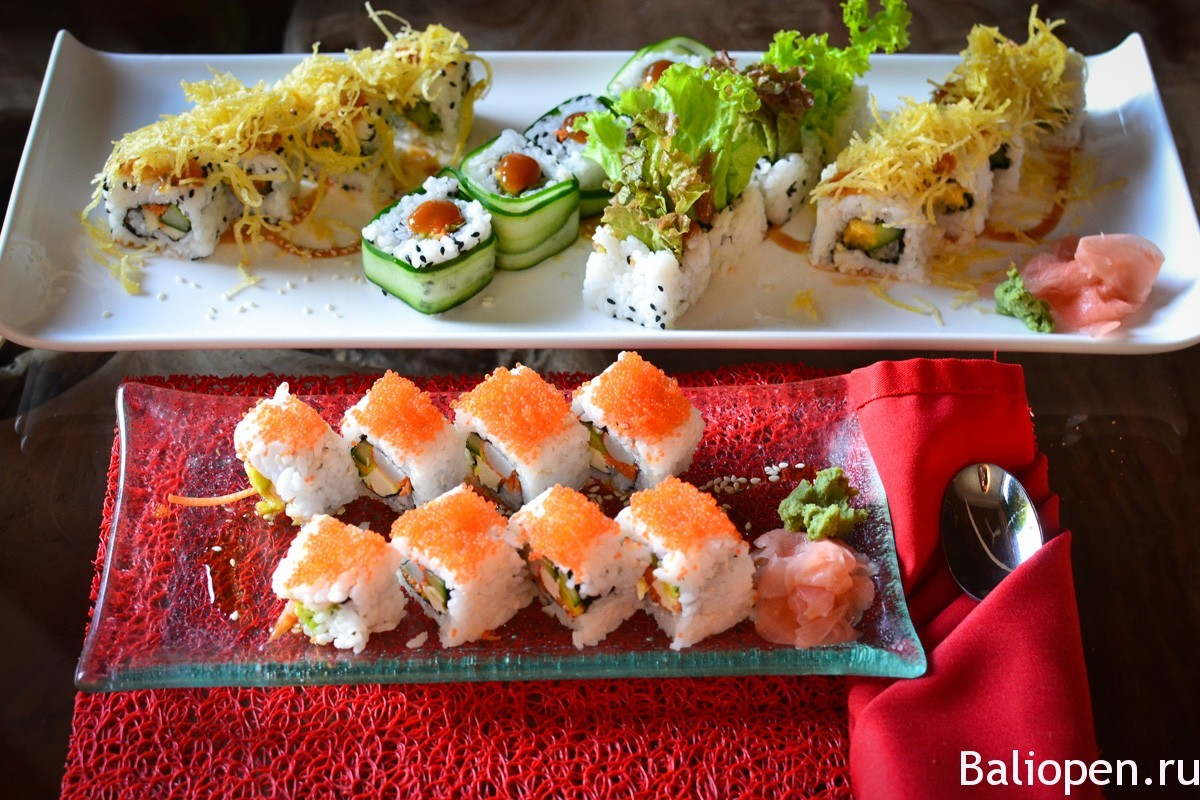 суши в Убуде