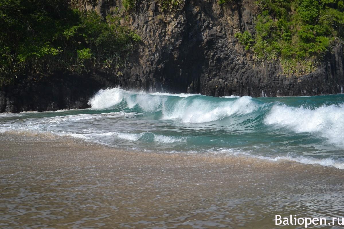 Красивый пляж на Бали - White sand beach