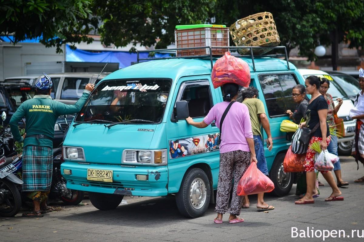 Аренда транспорта на Бали