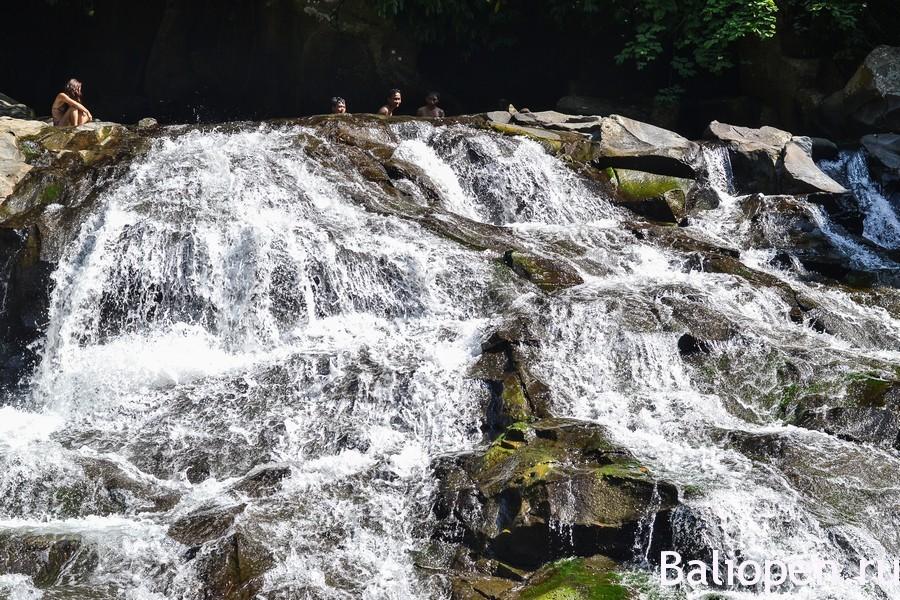Водопады на Бали около Убуда