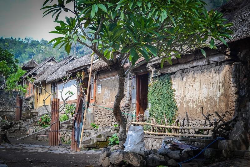 Деревня Тенганан на Бали