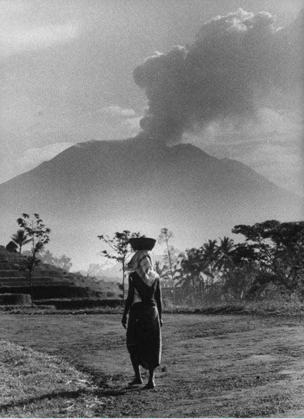Извержение вулкана Агунг в 1963 году