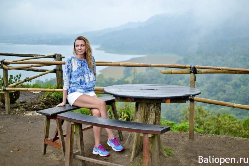 Смотровая на озера Буян и Тамблинган