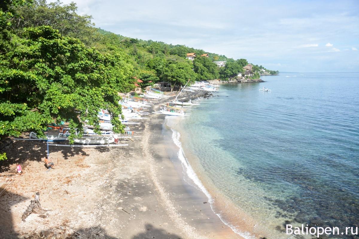 Амед - восток острова Бали