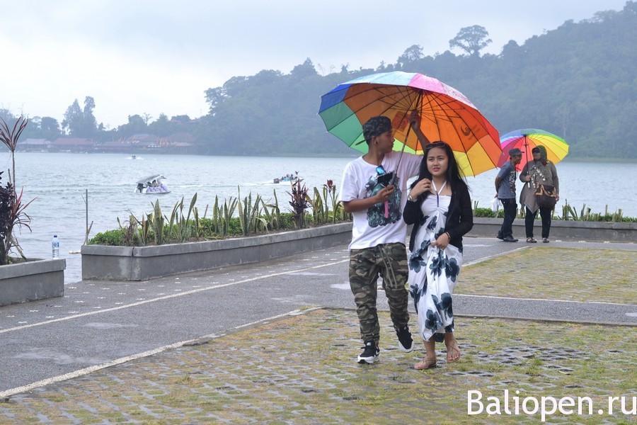 Сезон дождей на Бали. Дождик, дождик, поливай.