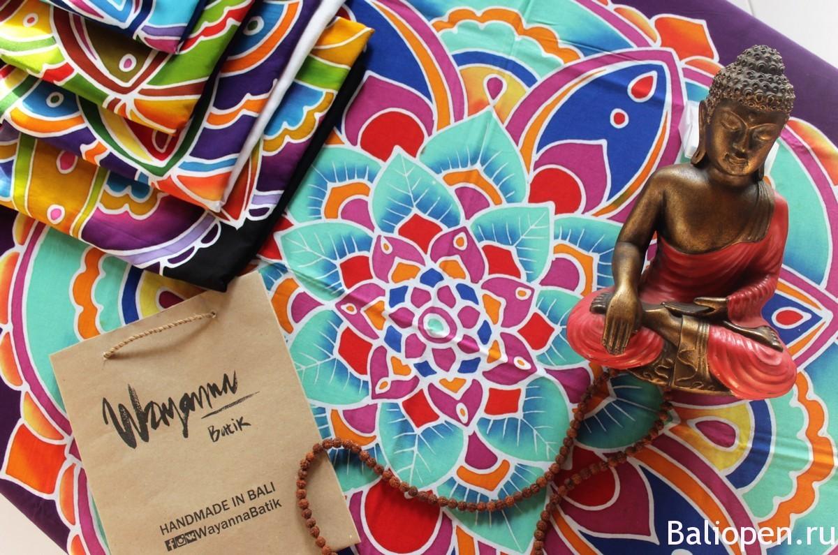 Русско- балийский проект Wayanna-Batik рассказывает про искусство батика