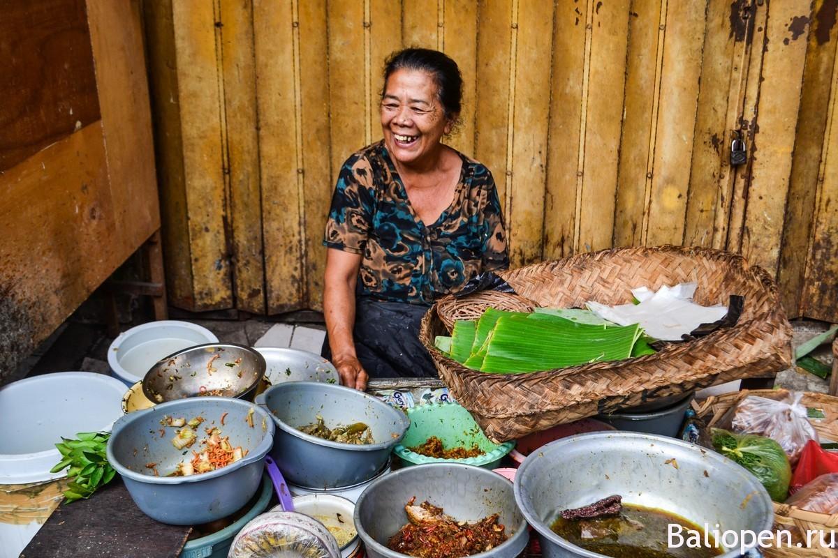 Утренний рынок на Бали
