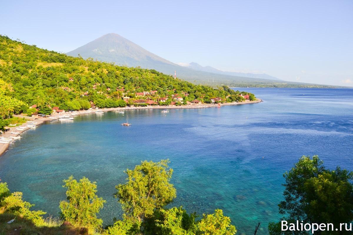 Восток острова Бали. Провинциальный и душевный поселок Амед.