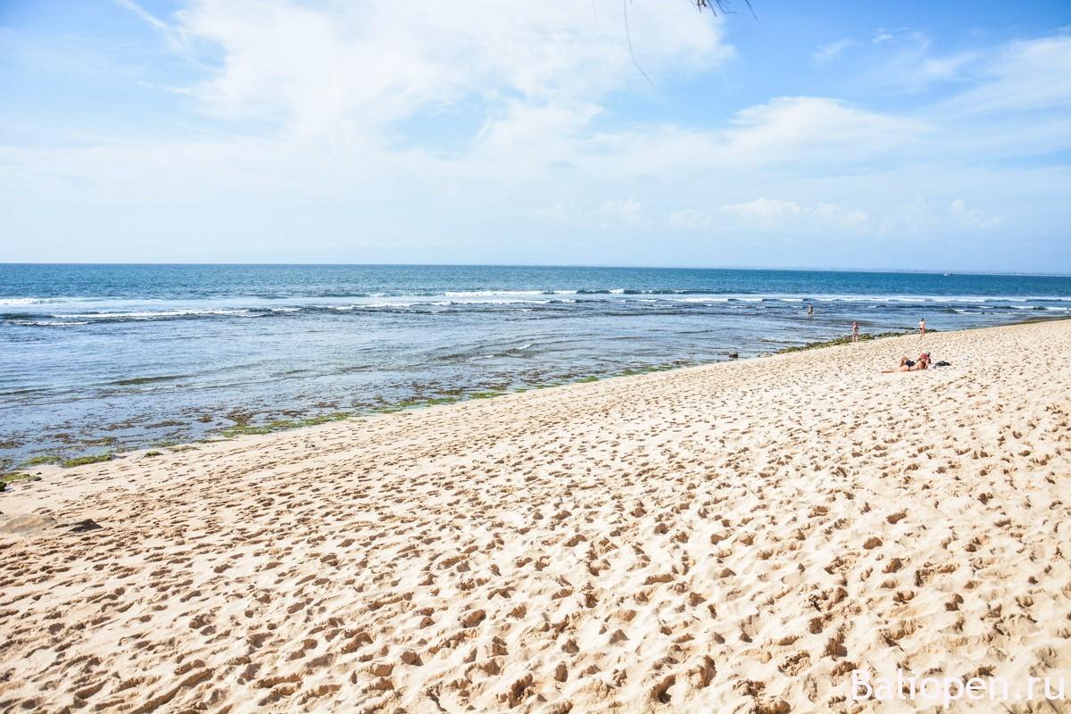 Марсианский пляж Баланган (Balangan beach)