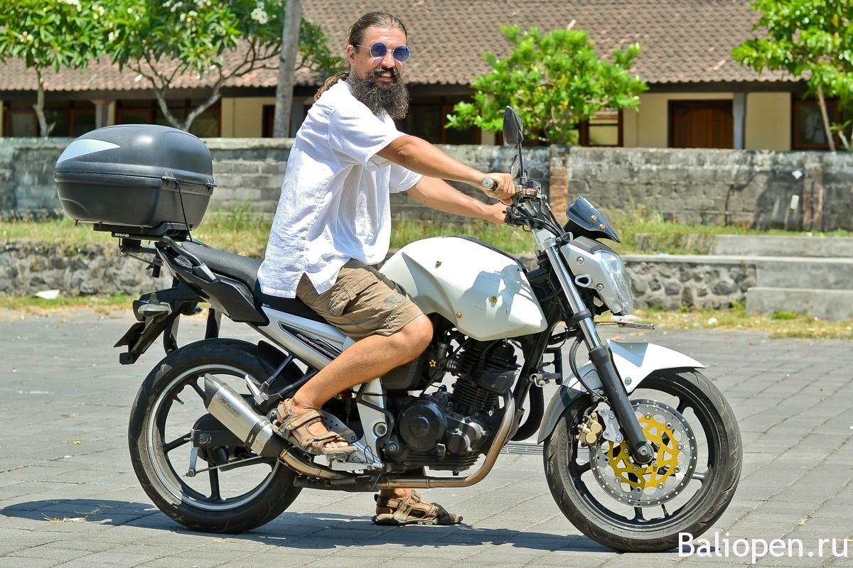 Аренда мотобайка на Бали с бесплатной доставкой в ваш отель.
